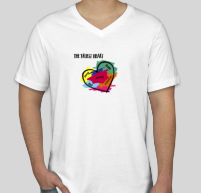 Truest Heart White T-Shirt