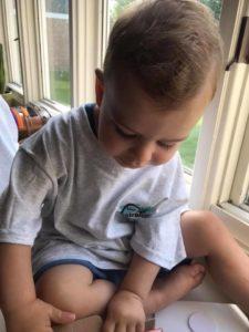 Baby wearing The Truest Heart T-Shirt